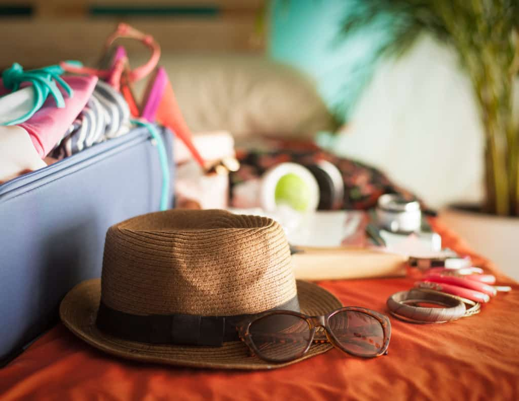 What to pack for a holiday when suffering back pain