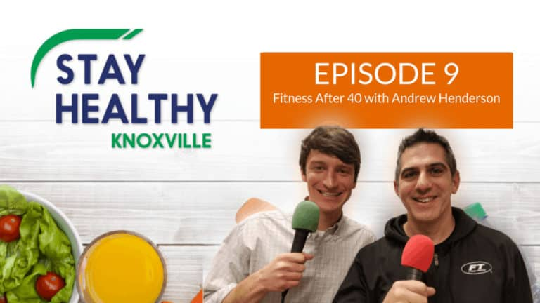 Episode 9: Fitness After 40 with Andrew Henderson